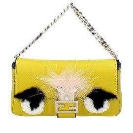 Fendi-Mini bag-Yellow