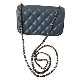 Chanel-Timeless mini-Blue
