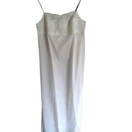 La Perla-Chemise de nuit  longue-Blanc