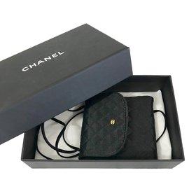 Chanel-Mini sac collier Chanel-Noir
