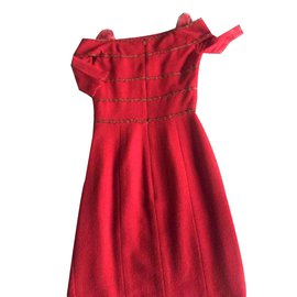 Chanel-Robes-Rouge