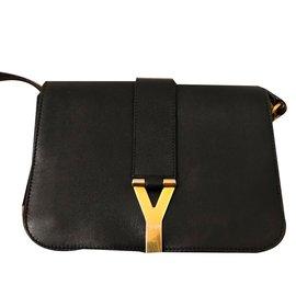 Yves Saint Laurent-Sacs à main-Noir