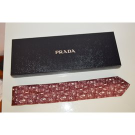 Prada-Cravates-Multicolore