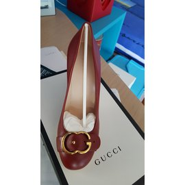Gucci-Escarpins-Rouge