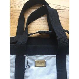 Balmain-Balmain beachwear big shopping bag-Grey