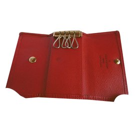 Louis Vuitton-Key Holder-Rouge