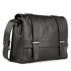 Prada-messenger bag-Noir