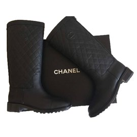 Chaussures luxe Chanel occasion - Joli Closet 2389bb85704