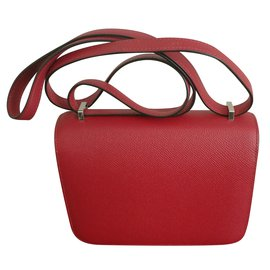 Hermès-Constance Mini-Dark red
