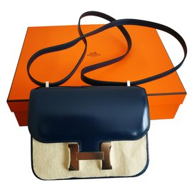 Hermès-Constance Mini-Navy blue