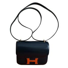 Hermès-Constance Mini-Bleu Marine