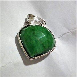 Autre Marque-Pendant necklaces-Green