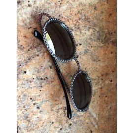 Chanel-Lunettes de soleil-Gris