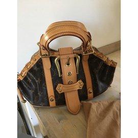 Louis Vuitton-Sac à main-Marron foncé ... 03fd16781bf