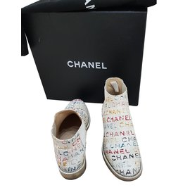 Chanel-Bottines-Multicolore