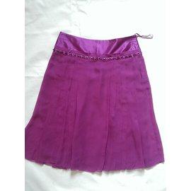 Massimo Dutti-Skirts-Prune