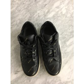 Balenciaga-sneakers-Black,Golden