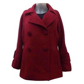 Gerard Darel-Coats, Outerwear-Red,Dark red ... 6aa229e5ad1e