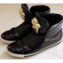 Versace-sneakers-Black