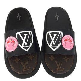 Louis Vuitton-Mule-Noir