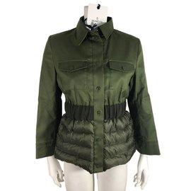 Moncler-Jacke-Grün