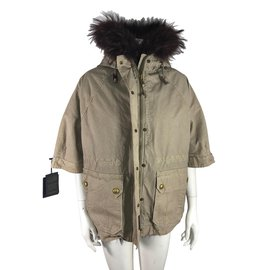 Gold Rush-Gold Rush Parka-Brown,Beige,Dark red