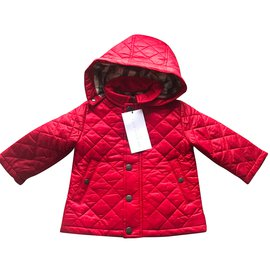 Burberry-Sandales enfant-Rouge