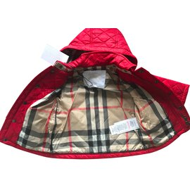 Burberry-Sandales enfant-Rouge