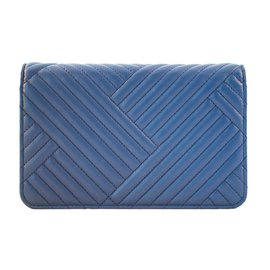 Chanel-woc chevron-Blue
