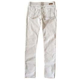 Burberry-Pants-Brown,White