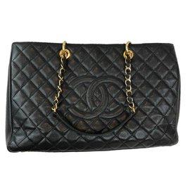 Chanel-Sac de voyage-Noir