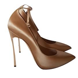 Casadei-Casadei higher heels-Beige
