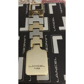 Lancel-Bijoux de sac-Argenté,Doré