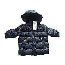 Ralph Lauren-Boy Coats Outerwear-Black