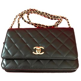 Chanel-timeless Wallet on Chain - Limited Edition-Black