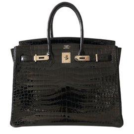 Hermès-Birkin 35-Preto