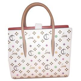 Christian Louboutin-Handbags-White