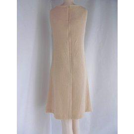Balenciaga-Wool dress-Peach