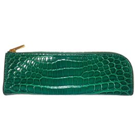 Céline-Purses, wallets, cases-Green