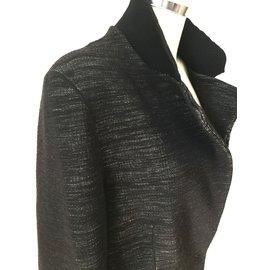 Yves Saint Laurent-Jackets-Grey