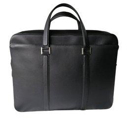 Delvaux-Newspaper Bag-Noir