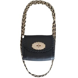 Mulberry-Mini Lily cookie bag-Black