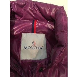 Moncler-Doudoune sans manche-Violet