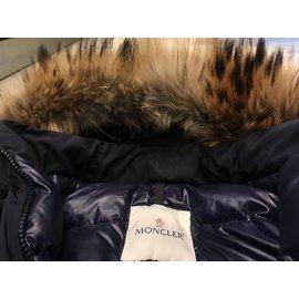 Moncler-Coats, Outerwear-Navy blue