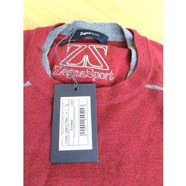Ermenegildo Zegna-Sweaters-Dark red