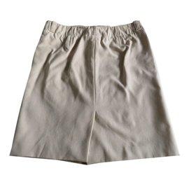 Burberry-Skirt-Beige
