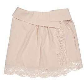 Chloé-Skirts-Beige