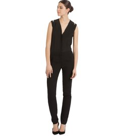 e7f8299ecd7 Maje-Jumpsuits-Black Maje-Jumpsuits-Black