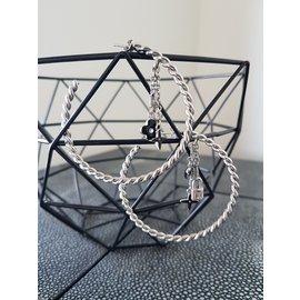 Louis Vuitton-Boucles d'oreilles-Argenté