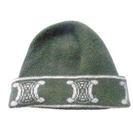 Céline-Hats-Green